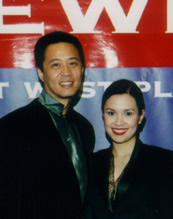 Tim Dang and Lea Salonga from the 36th Anniversary.  East West Players 38th Anniversary Gala features the best in the Asian American entertainment community