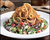 CPK's Smoked Bacon and Gorgonzola Salad
