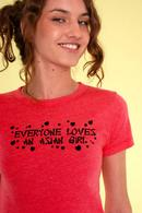Stupid 'Everyone Loves An Asian Girl' shirt