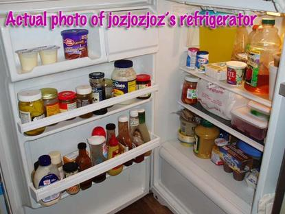 Actual photo of jozjozjoz's refrigerator