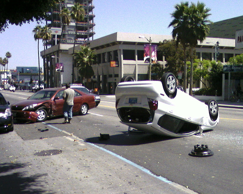 Accident Scene.  Photo by JasonEscapist