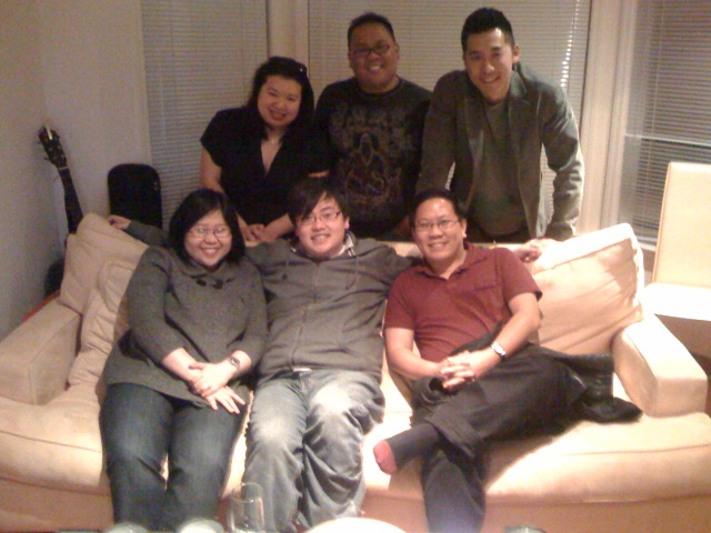 6 of 8Asians at MJ & Jason's - 03-15-2008